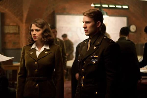 Peggy and Steve from Captain America: The First Avenger Photo: Marvel Entertainment
