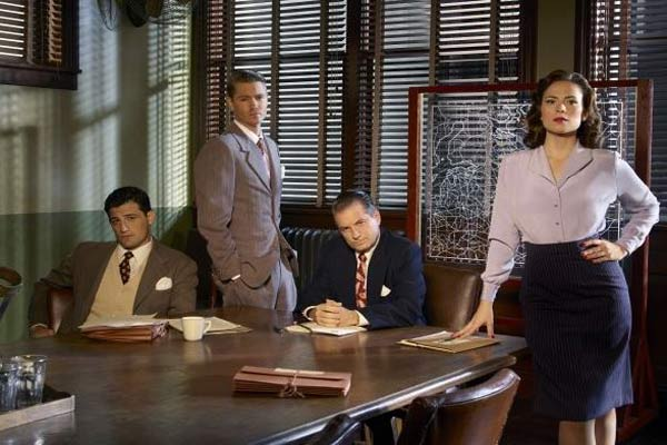 Peggy and her co-workers... Photo: ABC