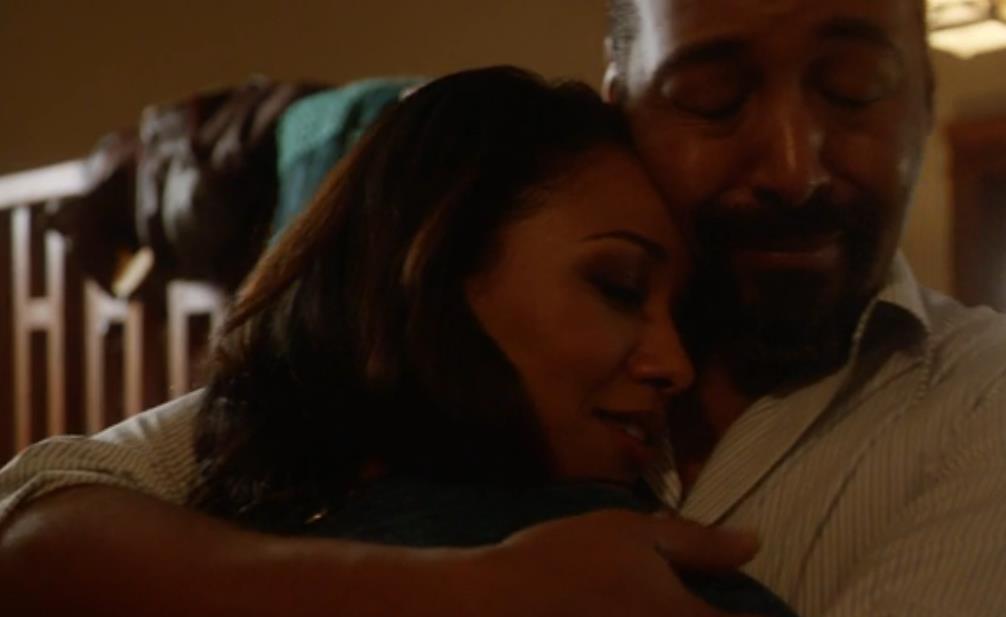 The Flash E10 Screencap (Iris and Joe)