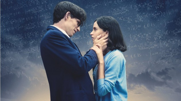 Publicity image for The Theory of Everything. Working Title Films