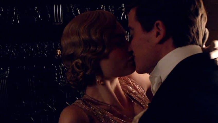 Downton Abbey E7 Screencap (Rose and Atticus Kiss) - Copy