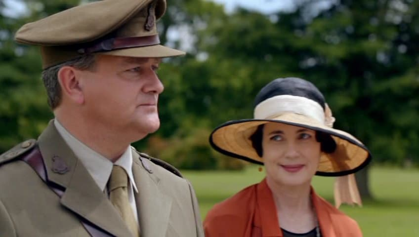 Downton Abbey E8 (Cora and Robert)
