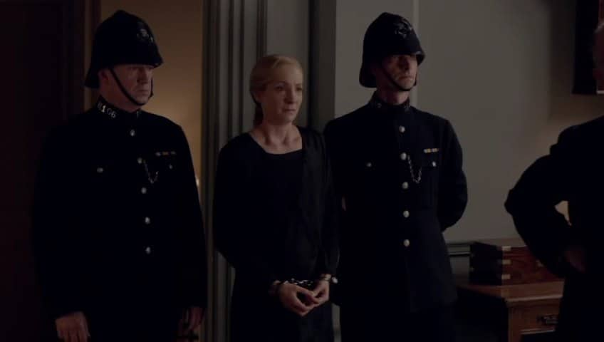 Downton Abbey E8 Screencap (Anna Arrested)