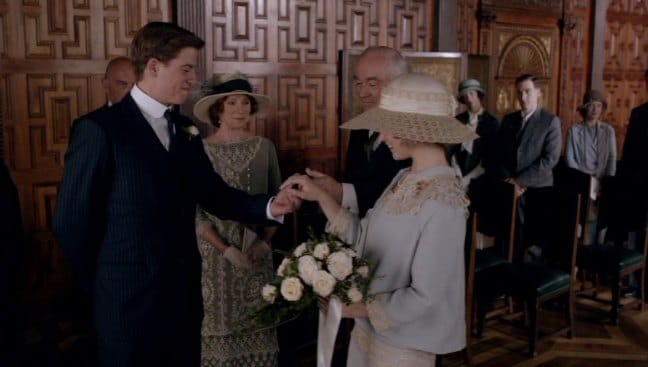 Downton Abbey E8 Screencap (The Wedding)