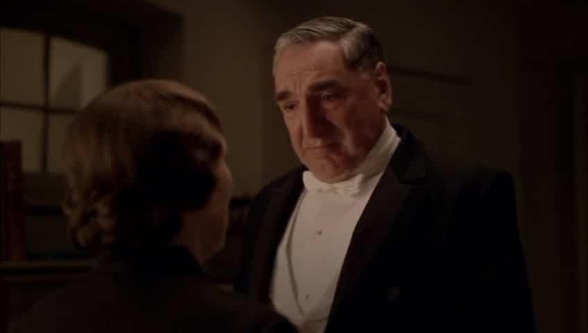 Downton Abbey E9 Screencap (Carson Proposes)
