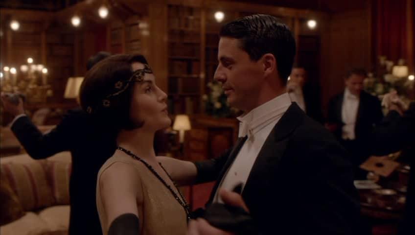 Downton Abbey E9 Screencap (Dancing)