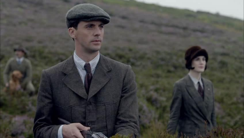 Downton Abbey E9 Screencap (Shooting)