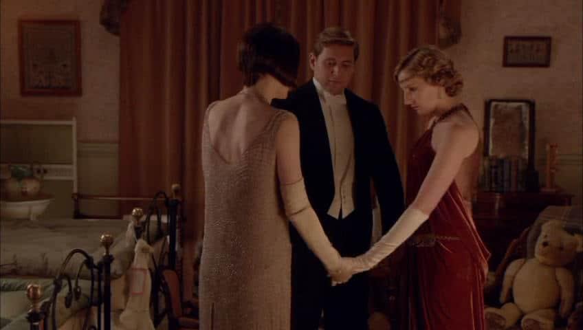 Downton Abbey E9 Screencap (the Siblings)