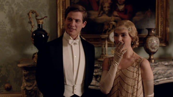 Downton E6 Screencap (Atticus and Rose)