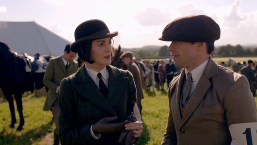 Downton E6 Screencap (Mary and Blake)