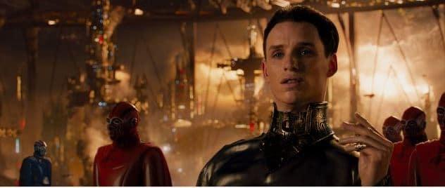 Eddie Redmayne as the main villain.