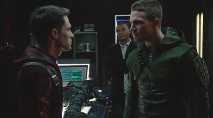Oliver versus team arrow