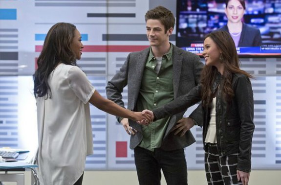 The Flash E12 (Iris and Barry)