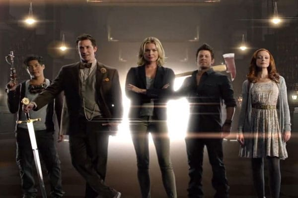 the librarians; time travel tv shows
