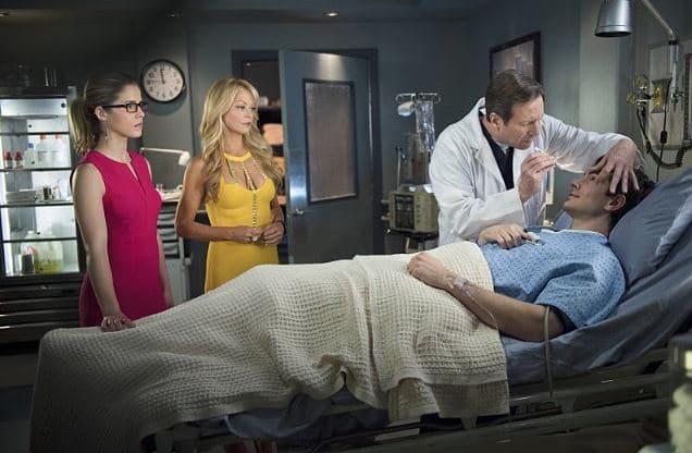Felicity and Ray at hospital