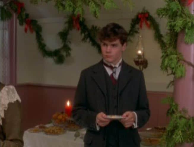 Gilbert steals Anne's dance card