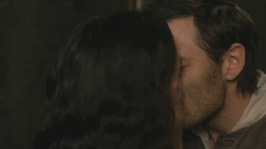 Jem kisses Mary