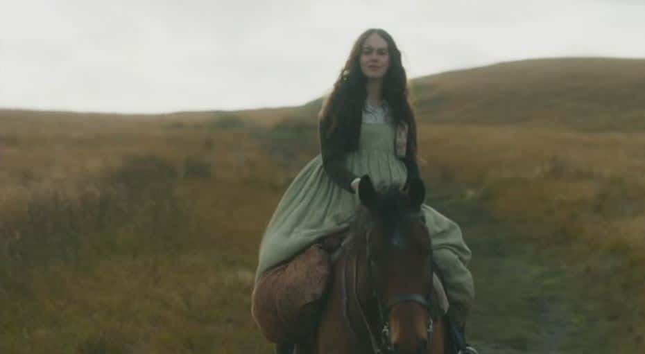 Mary on horse