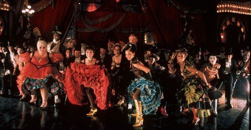 Moulin rouge style