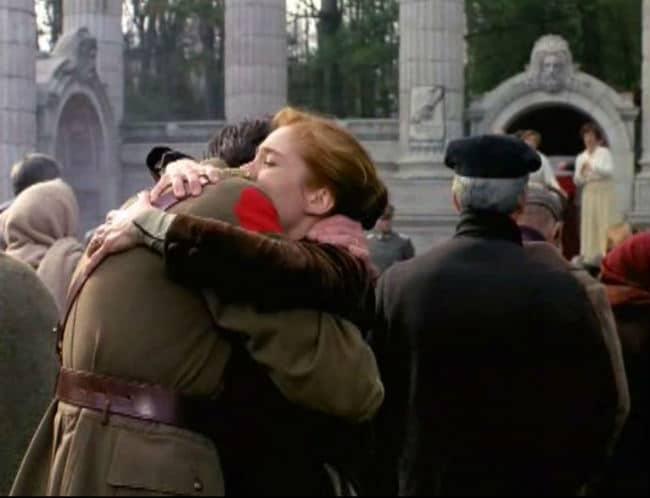 anne and gilbert hug crowd