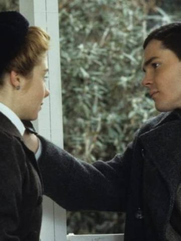 Anne Shirley and Gilbert Blythe in Anne of Green Gables the sequel