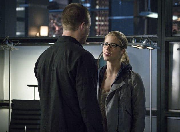 Oliver and Felicity promo shot