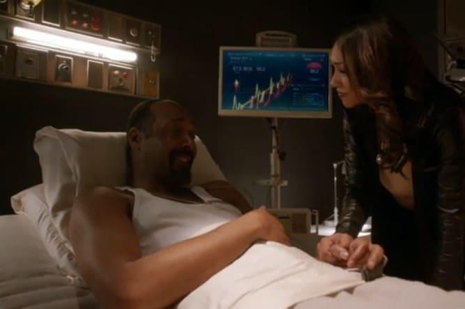 The Flash E21 Screencap (Iris and Joe)