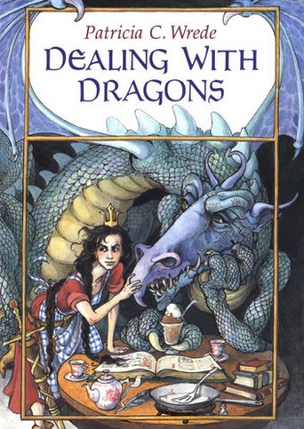 Dealing With Dragons: A Vintage YA Book Review