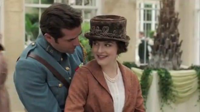 Mr. Selfridge S3 (Agnes and Henri)