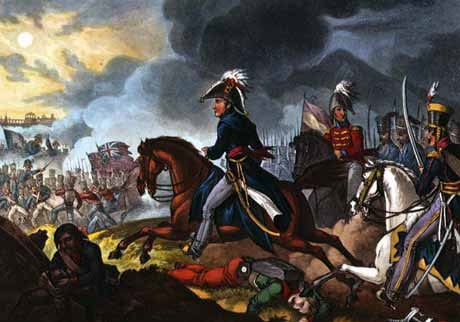 The Duke of Wellington at the Battle of Salamanca, 22 July 1812