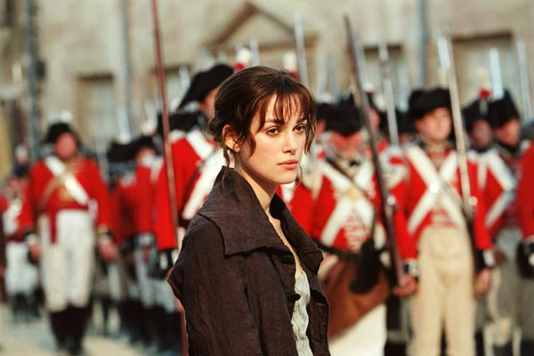 Keira Knightley as Lizzie Bennet. Photo: Universal Pictures