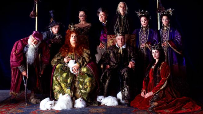 The cast of Gormenghast: BBC Worldwide