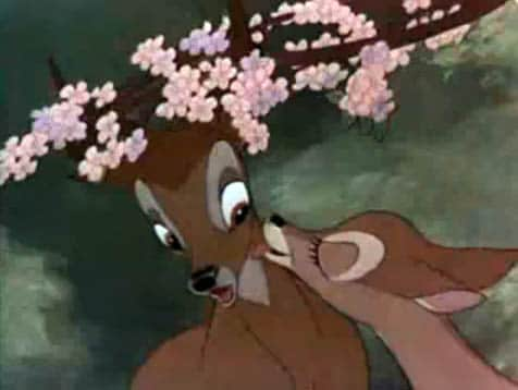 Bambi and Faline By Walt Disney (Original Trailer (1942)) [Public domain], via Wikimedia Commons