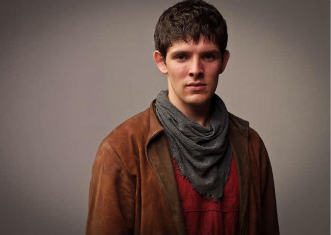 Colin Morgan in Merlin Photo: BBC