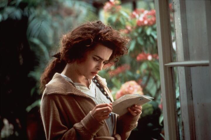 Howards End publicity photo with Helena Bonham Carter