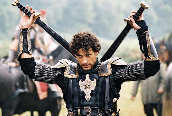 "Ioan Gruffudd as Lancelot in ""King Arthur"" Photo: Touchstone Pictures"