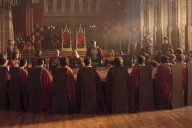 "The Round Table in ""Merlin"" Photo: BBC"