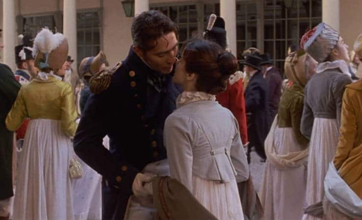 Persuasion (1995) starring Ciaran Hinds and Amanda Root. Photo: Sony Pictures Classics