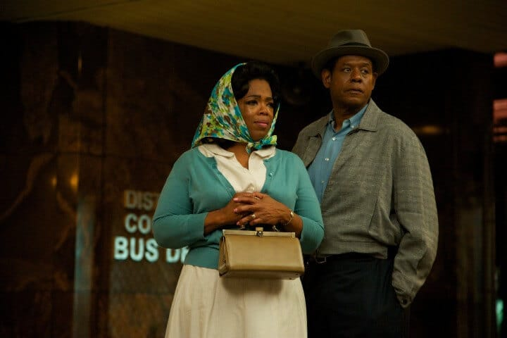The Butler Promo photo with Oprah and Forest Whitaker.