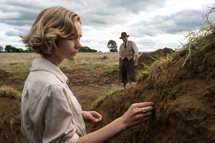 The Dig publicity photo with Carey Mulligan