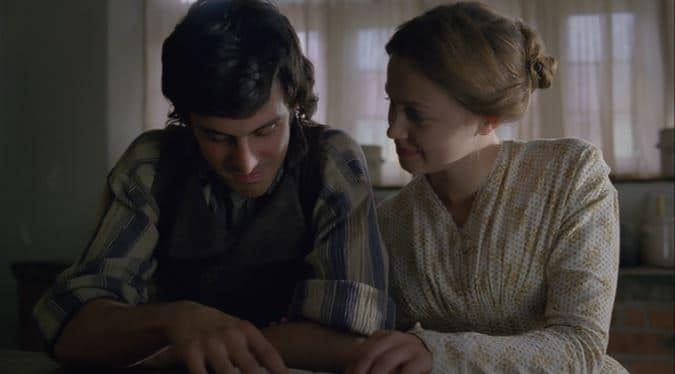 Catherine and Hareton