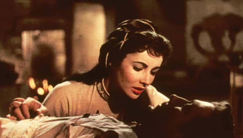 Ivanhoe film adaptation (1952) starring Elizabeth Taylor and Robert Taylor. Photo: MGM