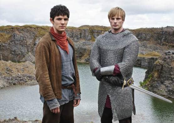 Merlin and Arthur. Photo: BBC