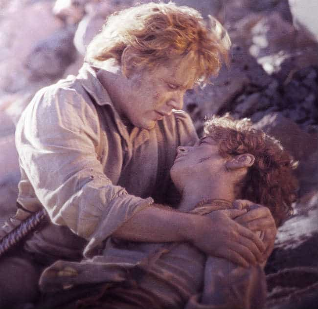 Sam and Frodo in Return of the King. Photo: New Line.