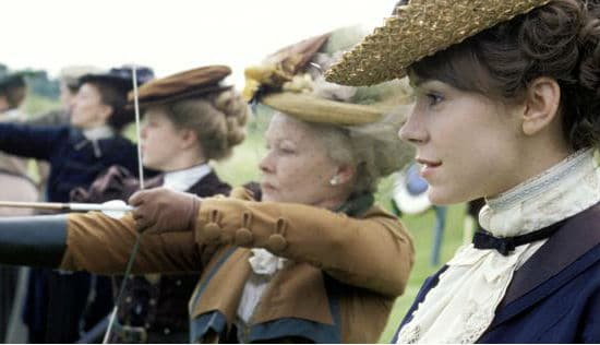 Judi Dench in The Importance of Being Earnest.