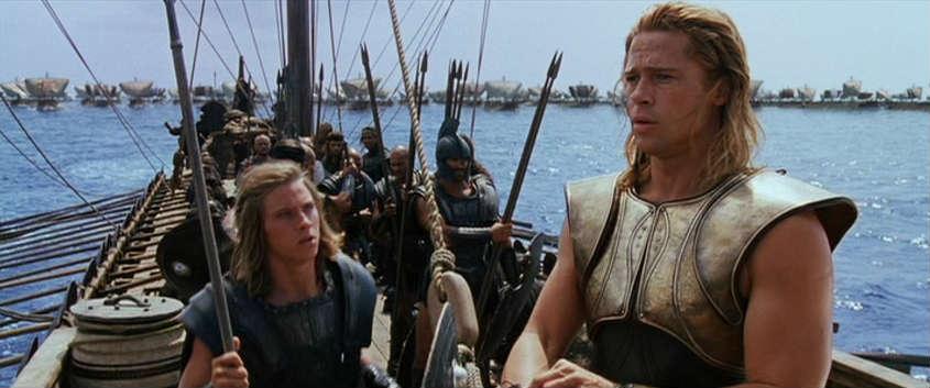 Achilles & Patroclus in the film Troy (2004) Photo credit: Warner Bros.