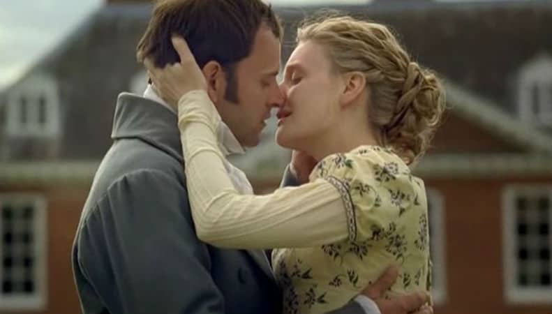 Emma (2009) adaptation starring Jonny Lee Miller and Romola Garai. Photo: BBC