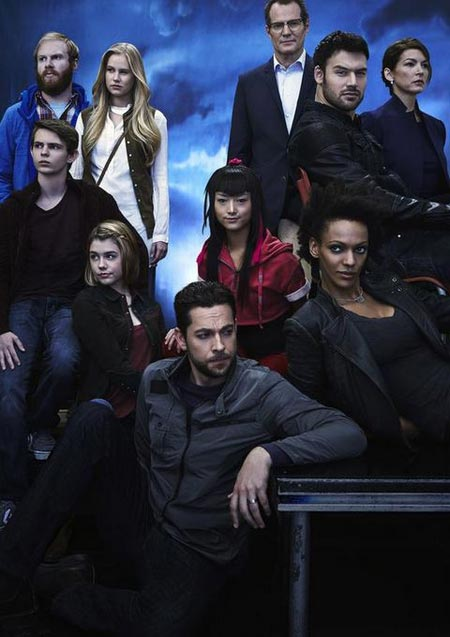 The cast of Heroes Reborn.
