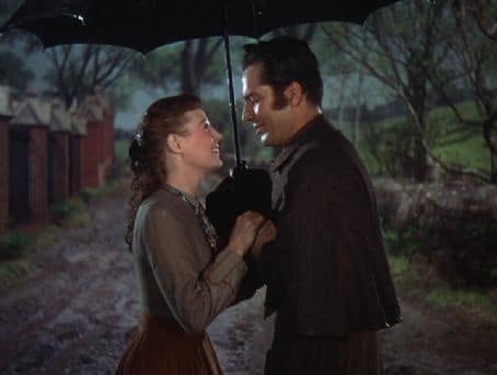 June Allyson and Rossano Brazzi as Jo and Professor Bhaer in Little Women 1949. Photo: MGM.