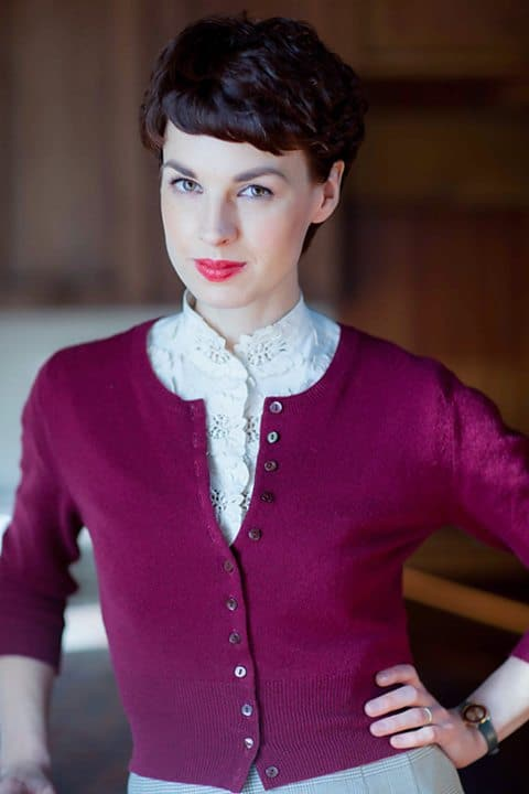 Jessica Raine as Tuppence. Photo credit: BBC One.